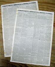 2 1827 newspapers AURORA BOREALIS The Northern Lights are viewed n MASSACHUSETTS