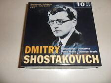 Cd  Shostakovich: Sinfonien, Konzerte, Klavier