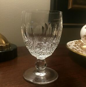 """5.25"""" Tall - Colleen Water - Vintage (1953-)  3"""" Rim  Waterford Wine Glass."""