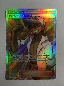 Professor Kukui -148/149- Full Art Ultra Rare Sun & Moon Pokemon Mint