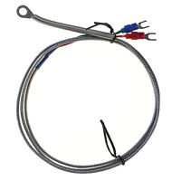1  9 x 6mm Probe Ring K Type Thermocouple Temperature Sensor 1 Meter long Washer