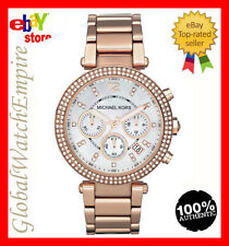 *New* Michael Kors Ladies Parker rose gold Womens watch - MK5491 - RRP 275$