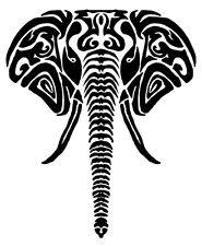 Tribal Elephant vinyl Decal / Sticker