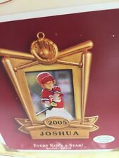 2005 Hallmark Keepsake Ornament Baseball Softball Every Kids a Star 22728