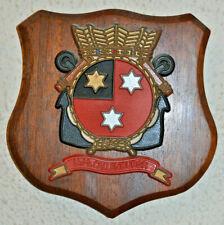 Hr Ms Callenburgh plaque shield crest Dutch Navy Netherlands gedenkplaat HNLMS