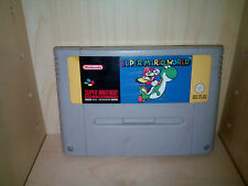 Super Nintendo SNES Game * Super Mario World  - Cart Only - Pal - UK *