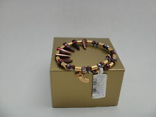 Alex and Ani DEPTHS OF THE WILD, Crimson Aura Wrap Bracelet, Spiked Studded