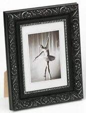 Walther Holzrahmen BAROCK schwarz-silber 20 x 30 cm Bilderrahmen Portrait Rahmen