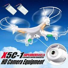 Syma X5C-1 2.4GHz 4CH 6 Axis RC Quadcopter Drone RTF With HD Camera+2PC Battery
