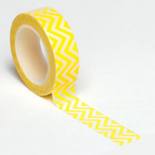 Queen & Co. Trendy Tape - Yellow Chevron