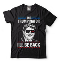 Trump 2024 I'll Be Back Elect Donald Trump 2024 Election T-Shirt Political Tees
