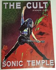 THE CULT SONIC TEMPLE SONGBOOK GUITAR AND BASS SHEET MUSIC BOOK NO TAB
