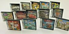 Nintendo DS Lot 14 Empty Cases Boxes Cover Art & Manuals No Game Cartridge