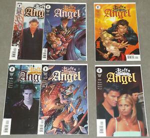 BUFFY THE VAMPIRE SLAYER ANGEL #1-3 Set + Variants 6 Issues 1999 Dark Horse
