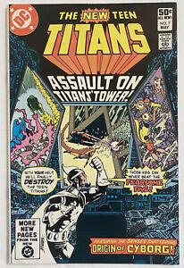 New Teen Titans No. 7 ((DC, 1981) VF/NM Dr. Light Wolfman, Perez