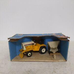 1/16 International Cub Cadet Farm Toy Lawn & Garden Tractor Mower In Blue Box