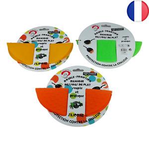 Dessous de plat souple et manique en silicone 22x17,5 cm 3 couleurs au choix