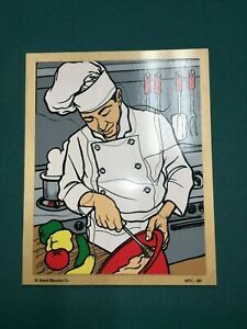 Wooden Chef Puzzle-Marvel Education Co. 10 Pieces MTC-489
