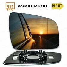 Vauxhall Zafira Right Driver wing mirror glass 2009-2014 side Wide Angle Heated