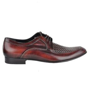 Dolce & Gabbana Woven Business Shoes Braun Shoes Brown Chaussures 03289