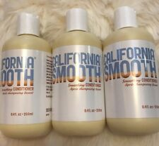 California Smooth Smoothing CONDITIONER 8.4 OZ/ SULFATE, PARABEN FREE Pack Of 3