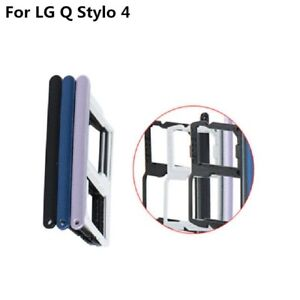 SIM SD Card Tray Holder Replacement For LG Stylo 4 Q710 Q710MS Q710ULM L713DL