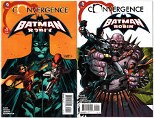 US Convergence Batman and Robin # 1 - 2 SET COMPLETO DC
