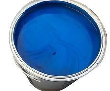 BLUE Paint 5L 1K SYNTHETIC automotive car-industrial suits banger racing 5015