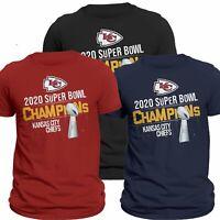 Kansas City Chiefs 2020 Super Bowl Winner LIV Champions T-Shirt S-6XL