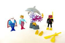 PLAYMOBIL Waterworld SET 3772 3330 Fairy World 5823 Deep Sea Diver Mermaids Lot