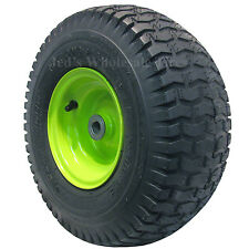 1) 15x6.00-6 15/6.00-6 Riding Lawn Mower Garden Tractor Tire Rim Wheel Assembly
