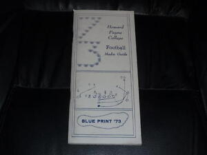 1973 HOWARD PAYNE COLLEGE FOOTBALL MEDIA GUIDE EX-MINT BOX 37