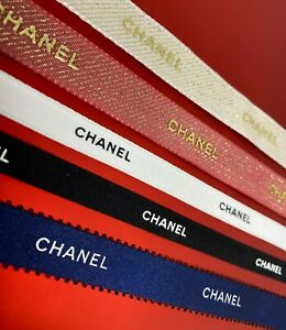 CHANEL Ribbon - 100% Authentic Designer Ribbon - Various Styles - Gifts Bows Etc