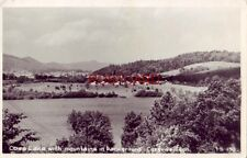 RPPC - COVE LAKE WITH MOUNTAINS IN BACKGROUND, CARYVILLE, TN.