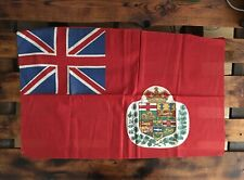 Rare 1890-1899 Canadian Red Ensign Flag