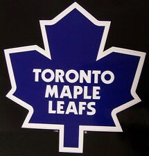 Window Bumper Sticker NHL Hockey Toronto Maple Leafs NEW