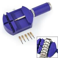 Bracelet Wrist Watch Band Adjuster Repair Tool Set Link Strap Remover+5 Pins NB