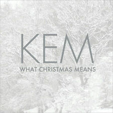KEM - WHAT CHRISTMAS MEANS - CD - Sealed