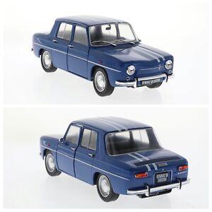 1/18 Solido Renault 8 Gordini 1100 Blue 1967 New Box Shipping Home