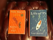 Beatrice and Virgil by Yann Martel Signed First Edition + Life of Pi ARC