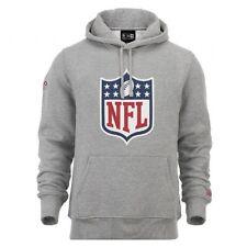 New Era Hoodie NFL Logo Kapuzenpullover Sweatshirt American Football Grau SALE
