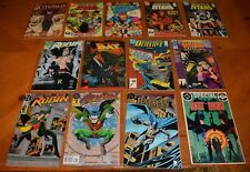 LOT BATMAN & ROBIN COMIC BOOKS LOT FOR COLLEGE BOOKS / TUITION - READ BUT LOVED