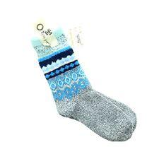 197385307a People 2 Pair Snowbird SLIPPER Socks Dark Grey 1 Sz  s