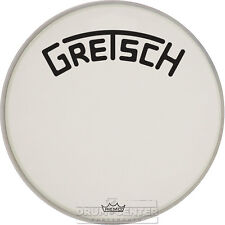 Gretsch Bass Drum Head Coated 18 With Broadkaster Logo