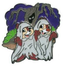 LE Chip and & n Dale Haunted Ghost Halloween Ghoulish Graveyard Disney Pin 2011