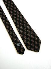 LANCEL 15288 DESIGN for ENRICO COVERI Cravatta Tie  Originale 100% SETA SILK