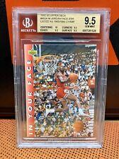 1992 UD Michael Jordan 453 In Your Face Date Error BGS 9.5 Dunk Contest PSA Rare
