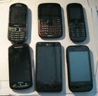 CELL PHONE LOT KYOCERA SONY ERICSON ALCATEL SAMSUNG LG GOLD RECOVER PARTS REPAIR