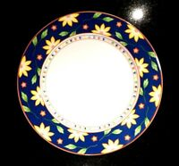 Beautiful Taitu Primavera Blue Dinner Plate