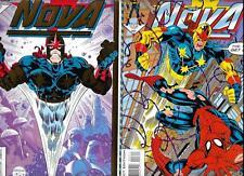 Run Of 12 Nova #1-#12 66% Complete Set Spider-Man Inhumans VF/NM FZ